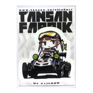 U井ステッカー [スコーピオンさん] / TANSANFABRIK