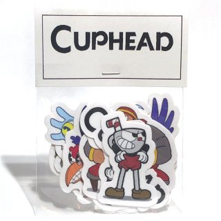 Cuphead Stickers / The Yetee