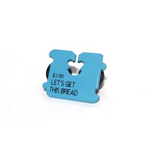 Let's get this bread Pin [Blue] / Studio Cult