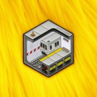 Isometric Subway Pin / Studio Cult