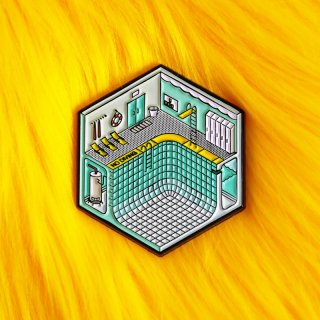 Isometric Pool Pin / Studio Cult