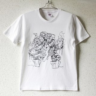 Mecha Girl T-shirt 2nd. / mzn