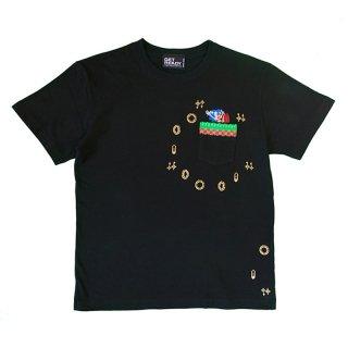 ソニック・ザ・ヘッジホッグ - 1POINTソニックポケットT [Black] / GET READY