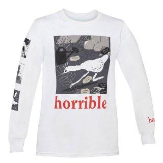 [限定・予約商品|8月末お届け] ロンT: Horrible / Untitled Goose Game