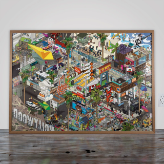 LA Poster / eBoy
