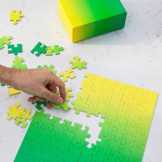 Gradient Puzzle - Small [100 piece] / AREAWARE