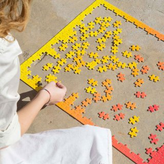 Gradient Puzzle [500 piece] / AREAWARE