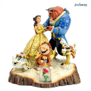 【JIM SHORE】Tale As Old As Time【在庫有り】