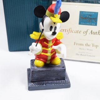 【WDCC】 The Band Concert Mickey Mouse From The Top【在庫有り】