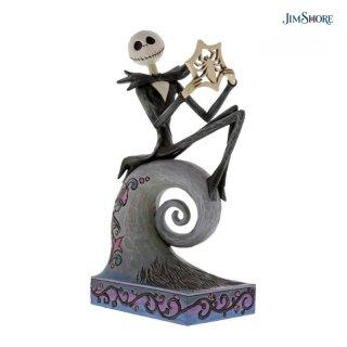 【JIM SHORE】ディズニートラディション: Jack Skellington Stone Resin Figurine