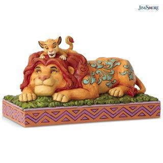 【JIM SHORE】ディズニートラディション:Simba & Mufasa【在庫有り】