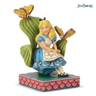 【JIM SHORE】ディズニートラディション:Alice In Wonderland【在庫有り】