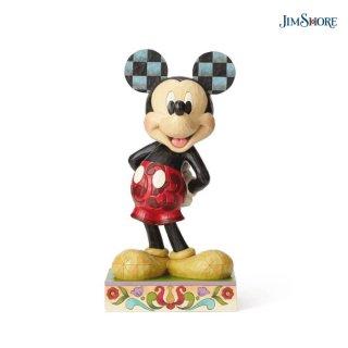 【取り寄せ】【JIM SHORE】ディズニートラディション:ミッキー ビッグフィギュア