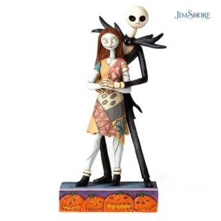 【JIM SHORE】ディズニートラディション:Jack and Sally【在庫有り】