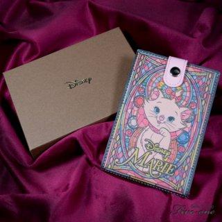 【Disney】おしゃれキャット マリー レザー製スタンドミラー(本革製)