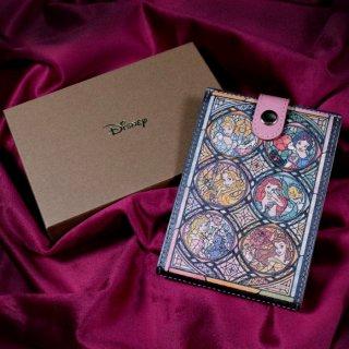 【Disney】プリンセス レザー製スタンドミラー(本革製)