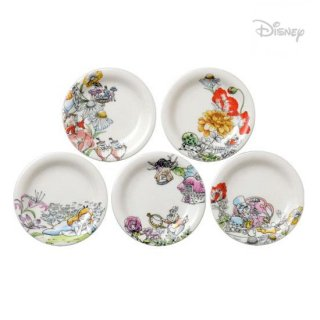 【Disney】アリス D-AL01 小皿5Pセット