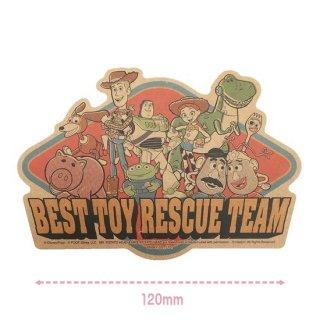 【Disney】ディズニートラベルステッカー:トイストーリー4オールスター