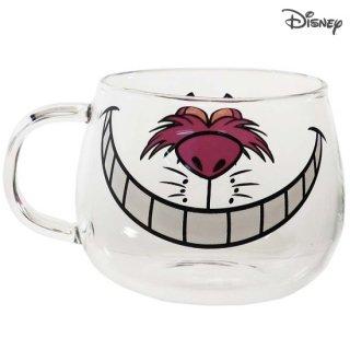 三郷陶器 ディズニー 耐熱ガラスマウスマグ:チェシャ猫