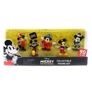 【U.S.A輸入商品】Special Edition 90周年記念:ミッキーマウスフィギュアセット
