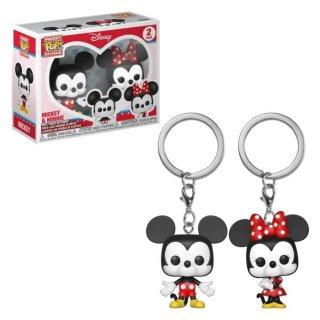 Funko POP! Keychain: Disney - ミッキー&ミニー(2 Pack)