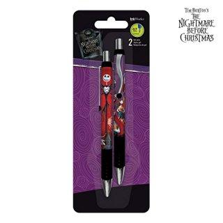 【送料無料】ナイトメアービフォアクリスマス:0.7 mmジェルペン2本セット