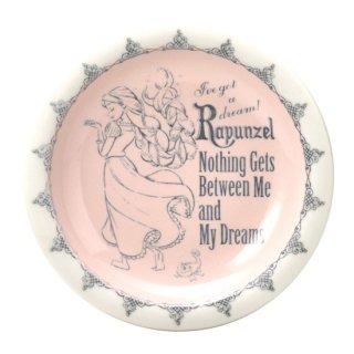 【三郷陶器】 ディズニー 塔の上のラプンツェル:アンティーク・プリンセス ベル プレート