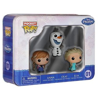 Funko Pocket Pop!:Elsa, Anna & Olaf コレクターズボックス