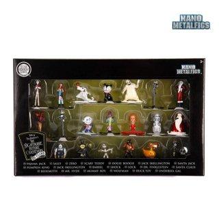 Jada Toys:ディズニー ナイトメアー・ビフォア・クリスマス メタルフィグス ダイキャスト ミニフィギュア 20パック 【在庫有り】