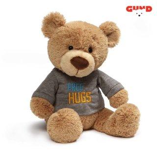【GUND】Tシャツべア- FREE HUGS-(在庫有り)
