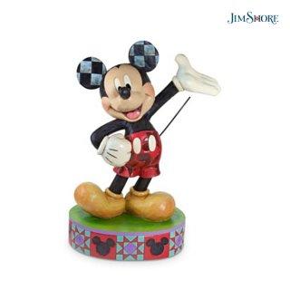 【取り寄せ】【JIM SHORE】ディズニートラディション:ミッキー オンリーワン ビッグフィギュア