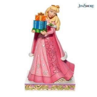 【取り寄せ】【JIM SHORE】ディズニートラディション:オーロラ姫 クリスマスギフト【ハロウィン・クリスマス商品】