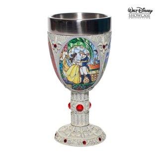 先行予約【Disney Showcase】ディズニーゴブレット 美女と野獣