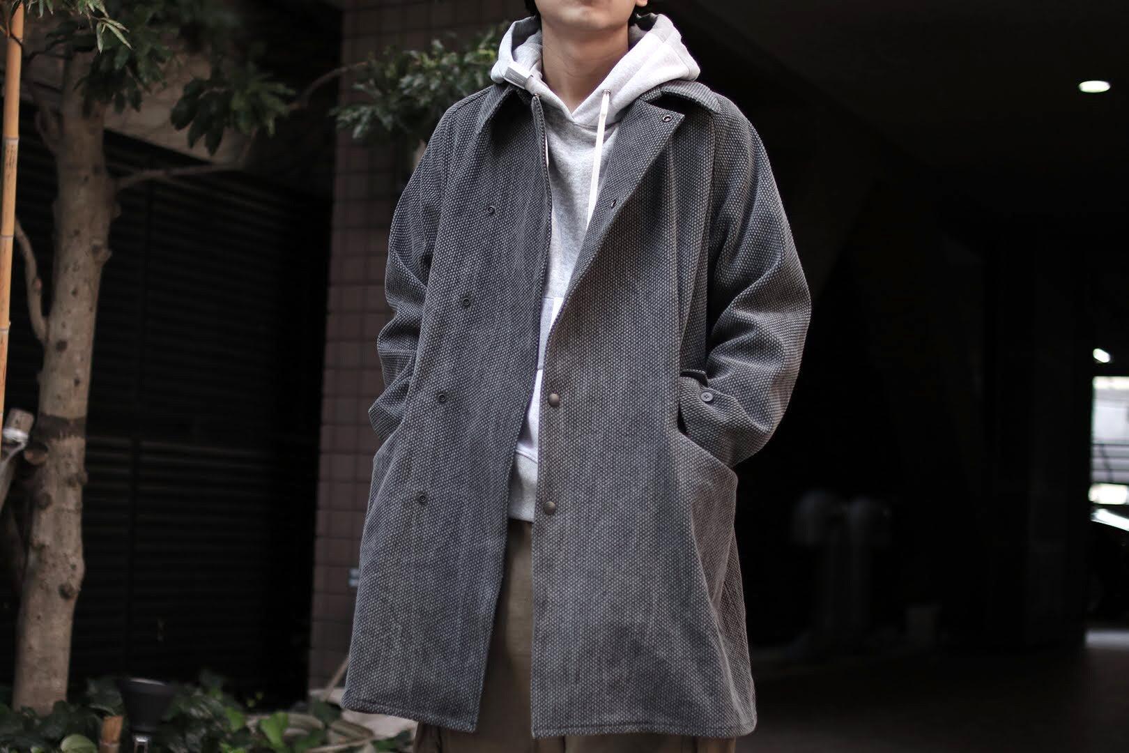 COLINA / SASHIKO FISHING COAT