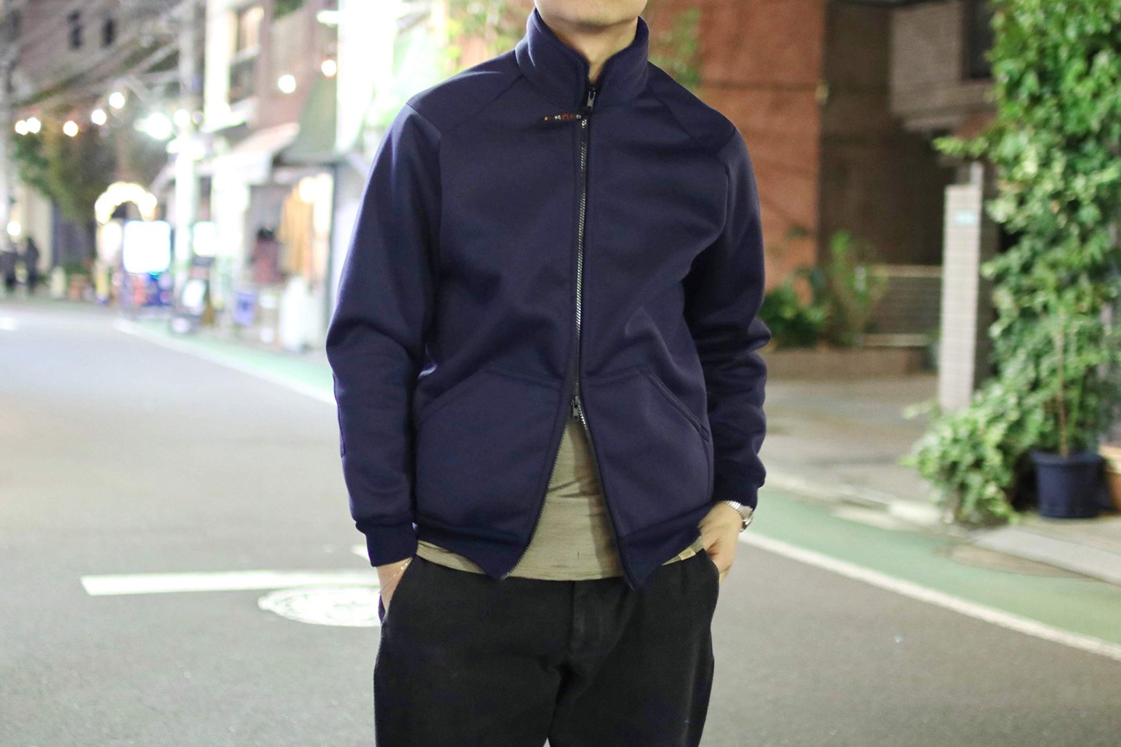 <img class='new_mark_img1' src='https://img.shop-pro.jp/img/new/icons58.gif' style='border:none;display:inline;margin:0px;padding:0px;width:auto;' />FARFIELD / A-25 FLEECE JACKET