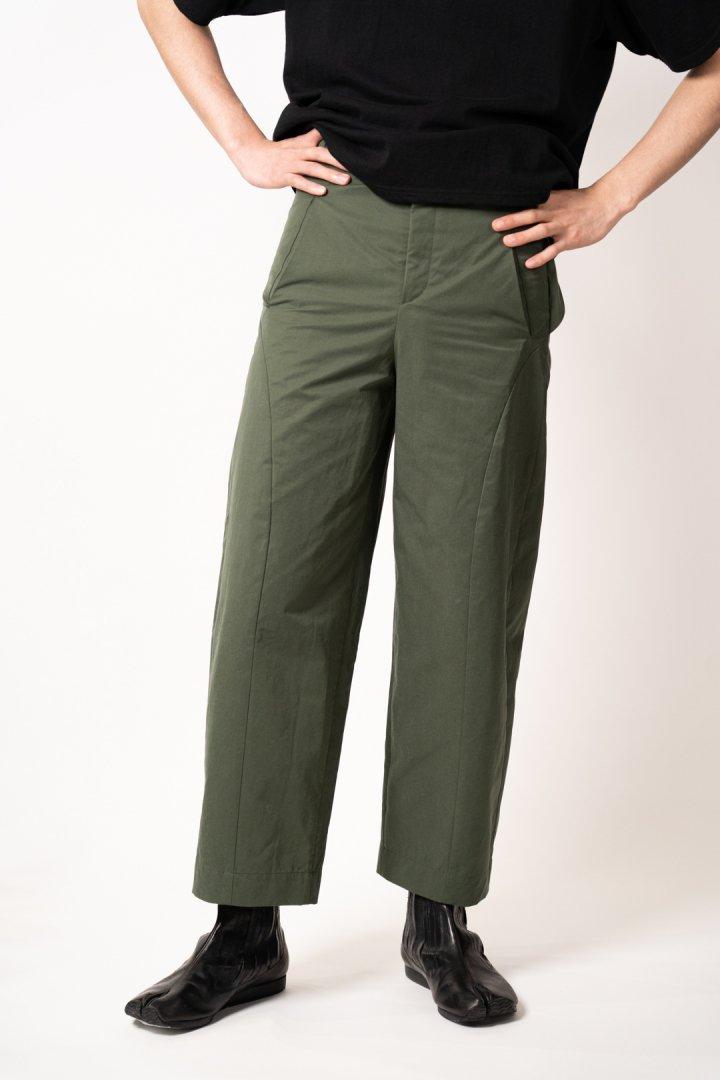 Nobuyuki Matsui / Cropped Cargo Pants