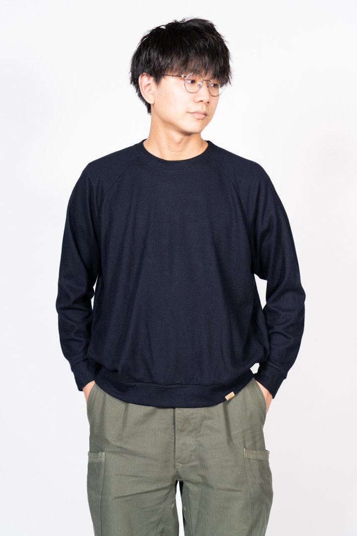 COLINA / Super140s Washable Wool Sweat -2020-