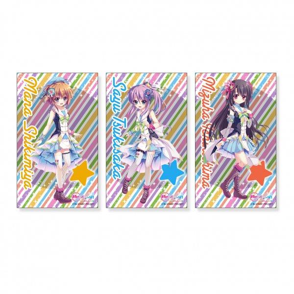 Re:ステージ!プリズムステップ キラキラステッカー〈1〉〜〈6〉KiRaRe