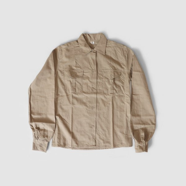 ironari(イロナリ) FRENCH ARMY CHINO SHIRTS
