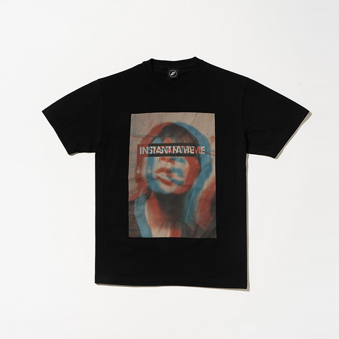 HOSOMI PHOTO T SHIRT [BLACK]