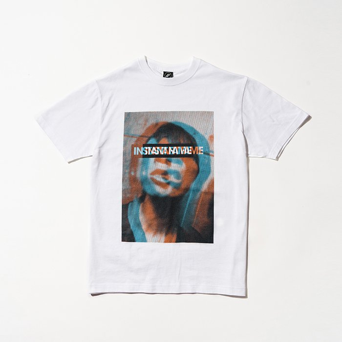HOSOMI PHOTO T SHIRT [WHITE]