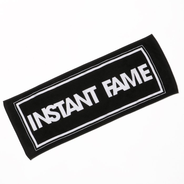 LOGO Face Towel [BLACK]