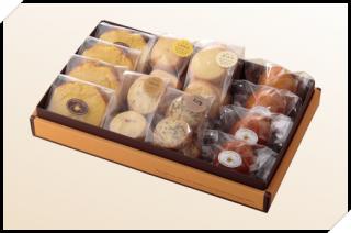 焼き菓子 詰め合わせ(1箱:パウンド4個 クッキー詰合せ4種 マドレーヌ4個)