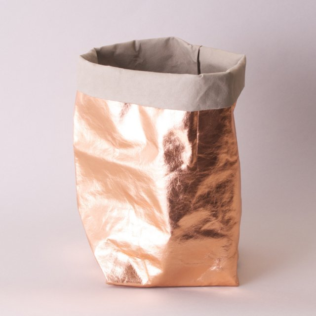 PAPERBAG METALLO LARGE PLUS