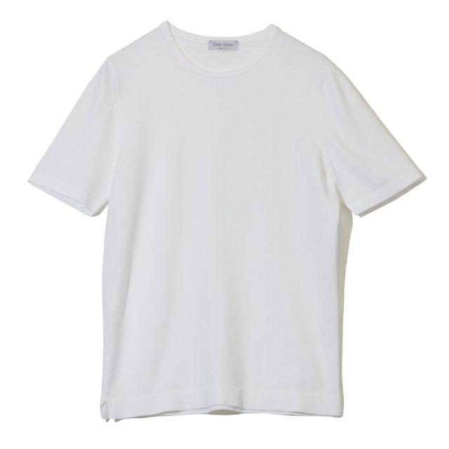 ソフトコットン ニットTシャツ