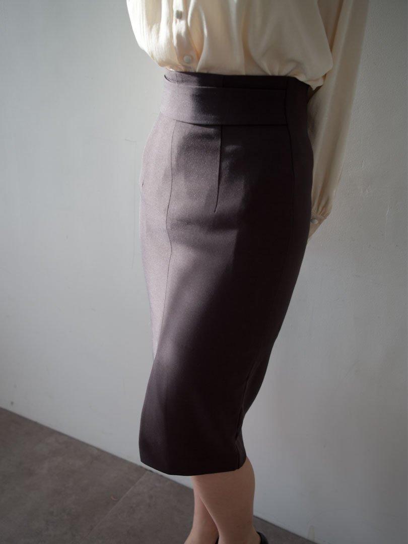 【即納】ベーシックペンシルスカート(3colors)【Sサイズ ブラック、レッド、カーキ1着ずつのみ】