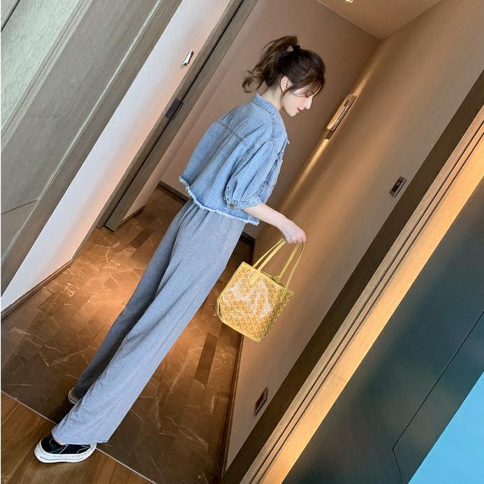 デニムジャケット+ジャンプスーツ【別売り可】