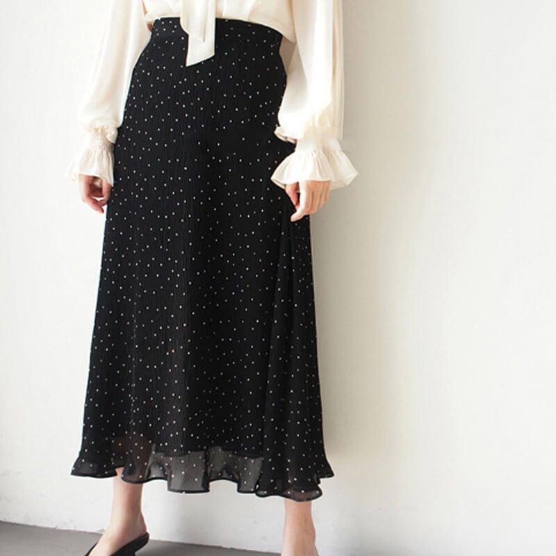 ワッシャードットスカート
