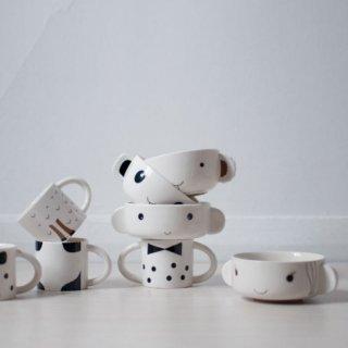 【imm Living】カナダ発スタッキングできる子供用食器セット [スープボウル コップ 茶碗 カップ] 電子レンジ 食器洗浄機可