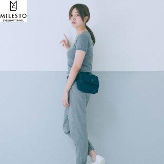 MILESTO|ミレスト TROT 旅行や街歩きをスマートに演出してくれるショルダーバッグ&ウェストポーチの2wayバッグ